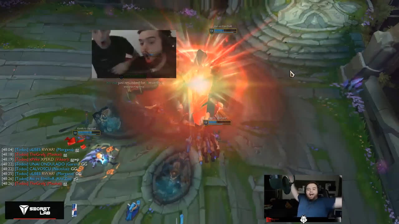 Best League of Legends Twitch clips May