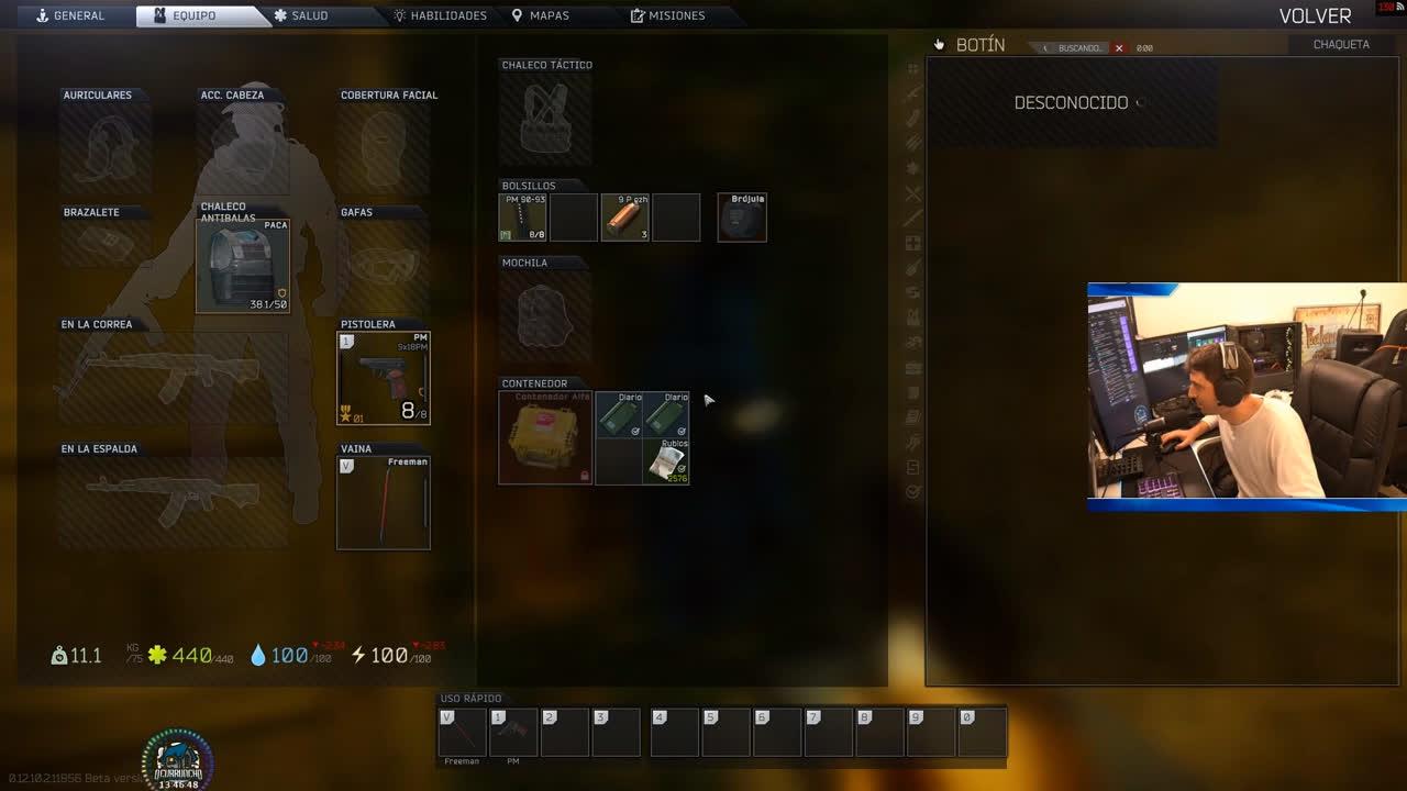MIsión PMC's a pistola, que poder!! en Escape from Tarkov