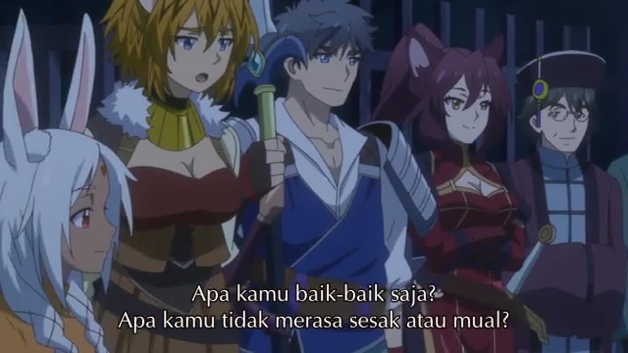 Kami-Tachi Ni Hirowareta Otoko episode 4 sub indonesia