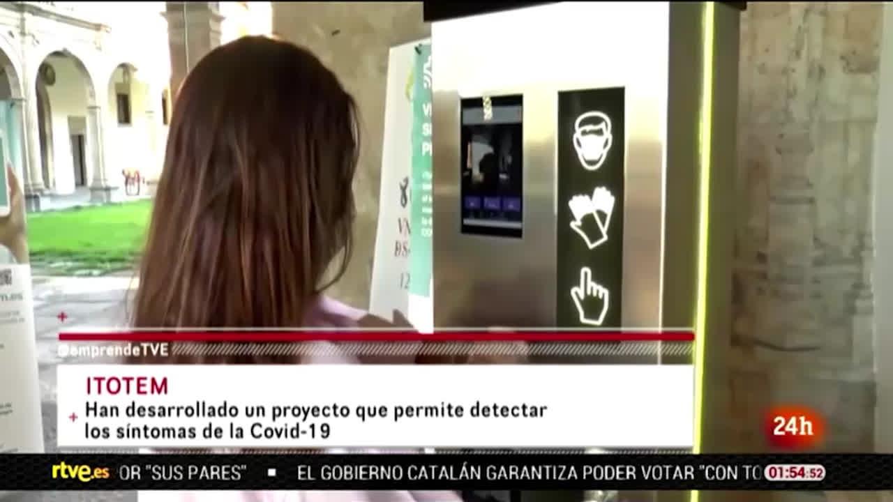 iTotem en Emprende RTVE