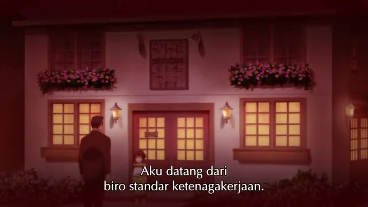 Kami-Tachi Ni Hirowareta Otoko episode 10 sub indonesia