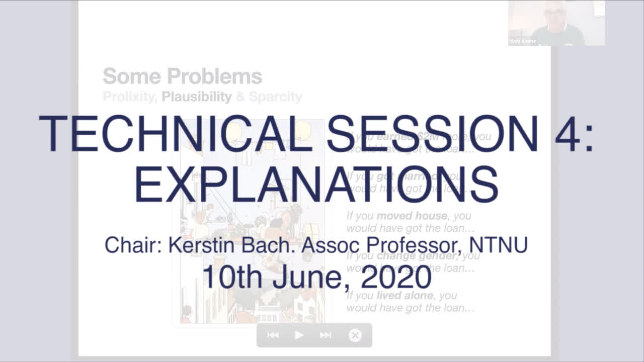 Technical Session 4: Explanations