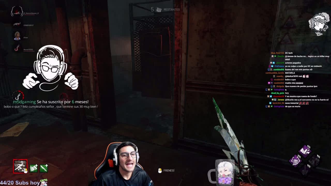 Las terorías de cada jugador en Dead by Daylight