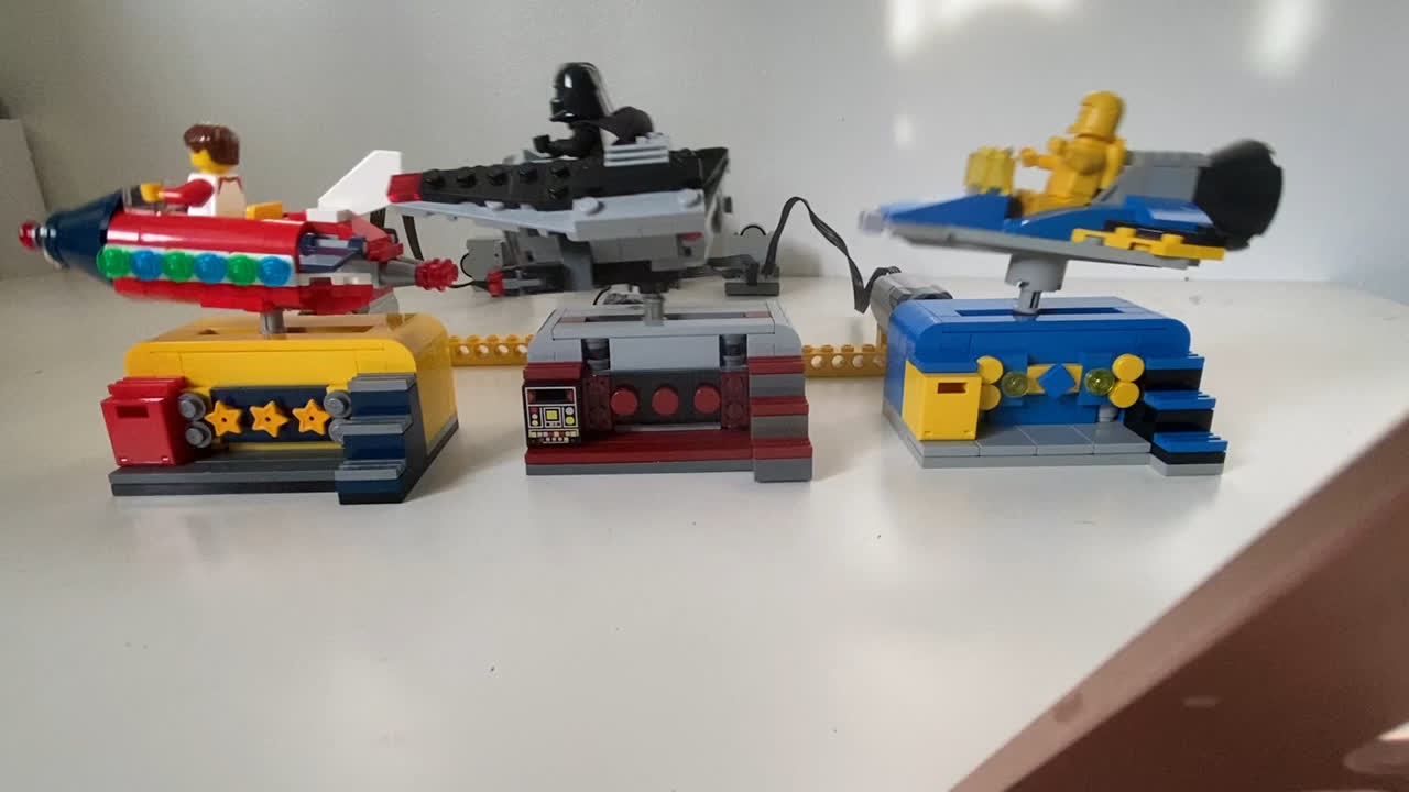 Lego Rocket Ride and MOCS