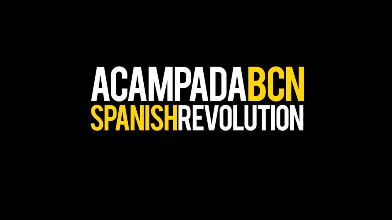 27 Mayo 2011 - Acampada BCN