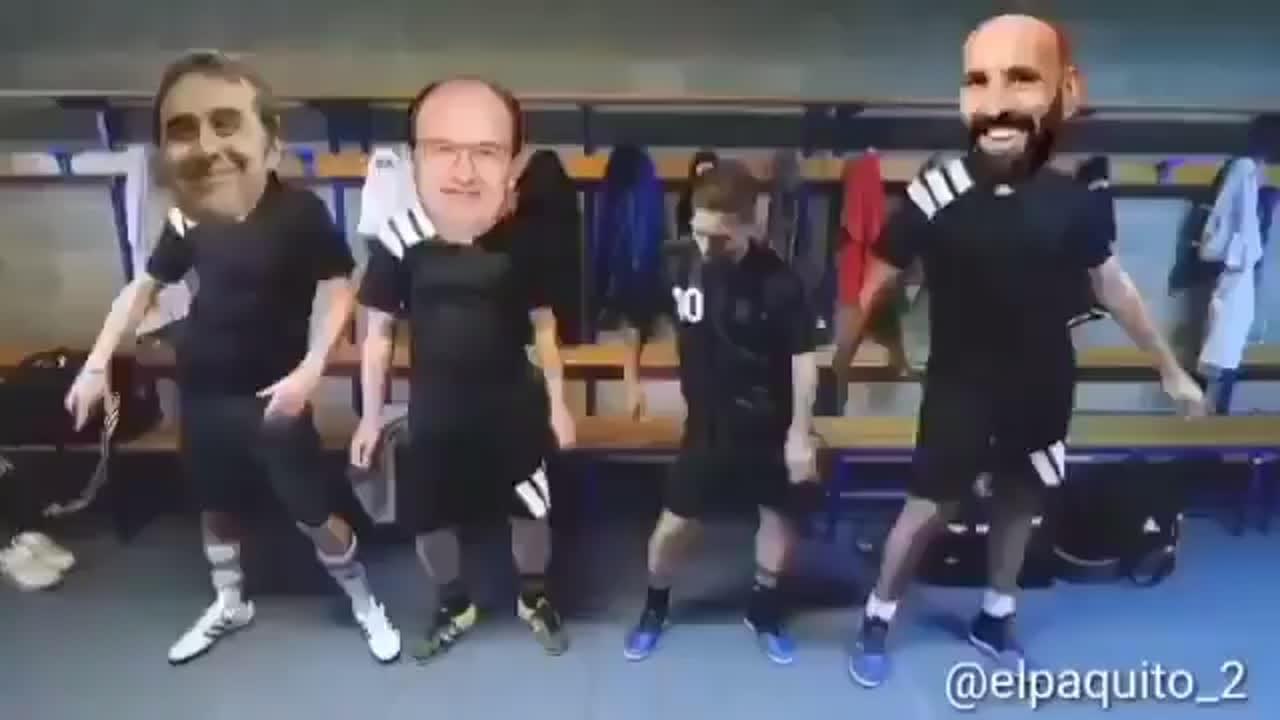 El Sevilla baila al ritmo del Papu tras la eliminación de copa