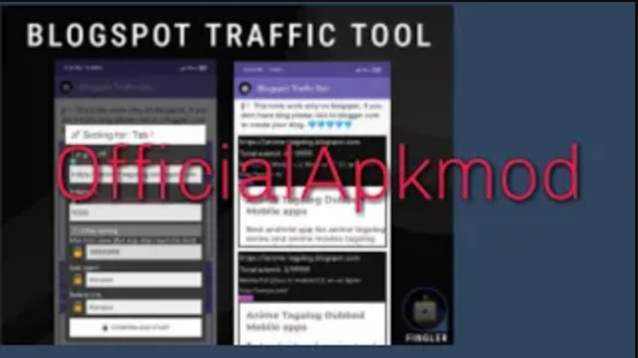 Cara download dan install fingler traffic Bot MOD