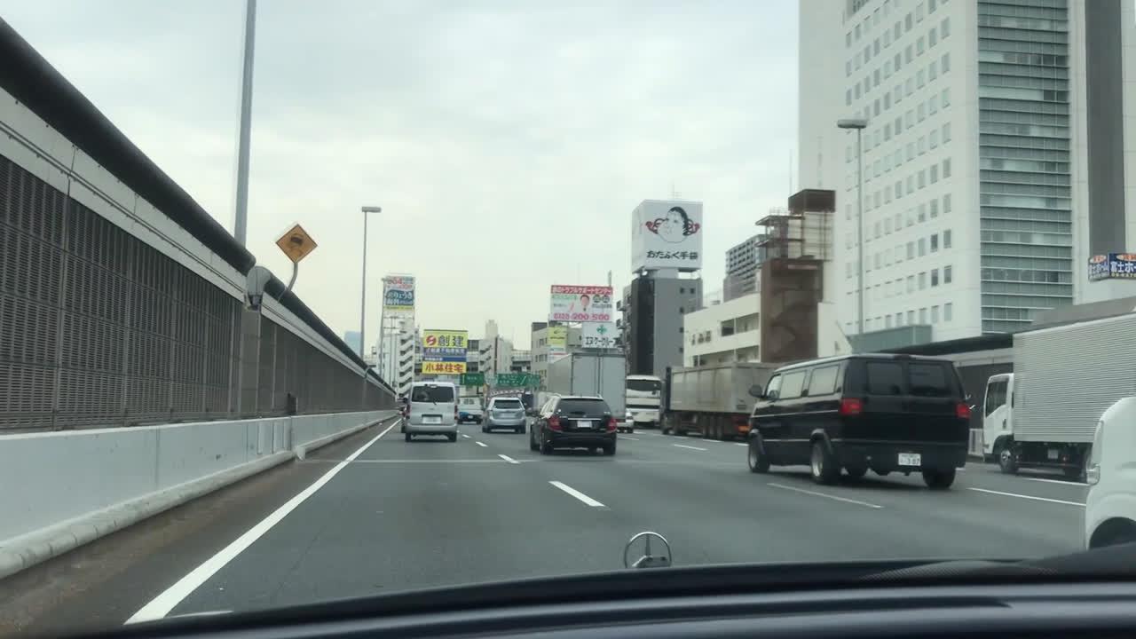 Driving in Osaka