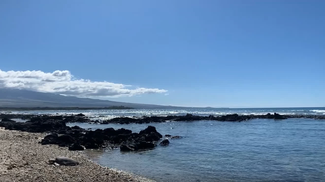 Walking in silence in Hawaii