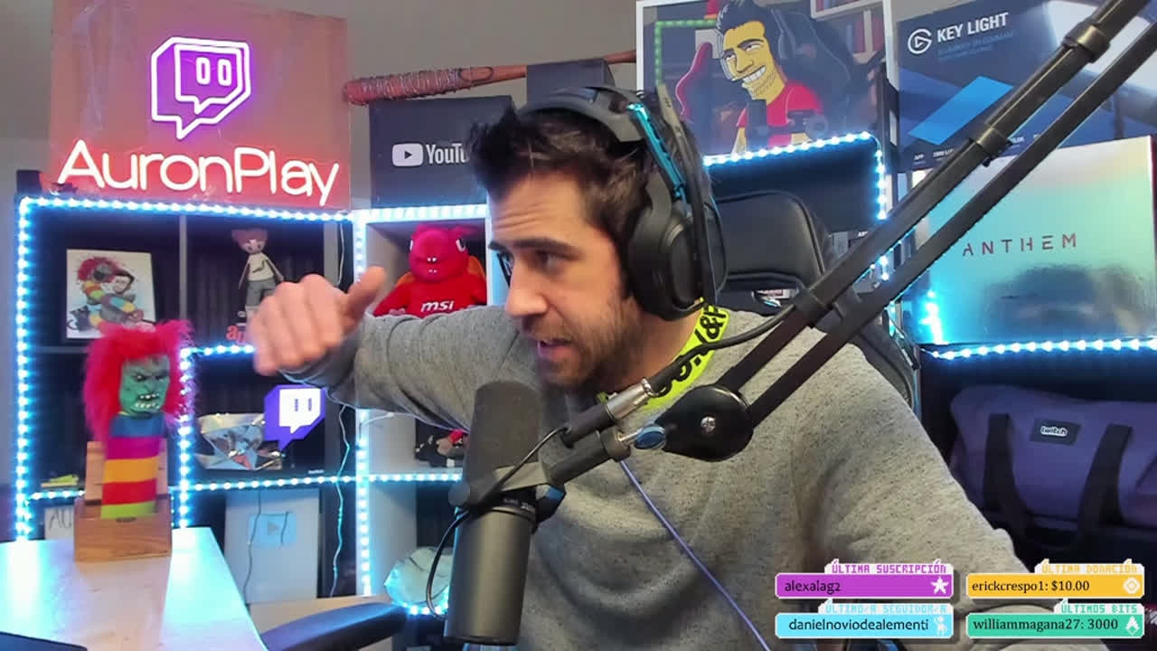 Auronplay Clips Just Chatting