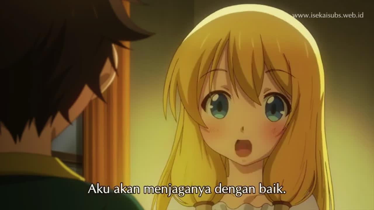 Kami-Tachi Ni Hirowareta Otoko episode 12 sub indonesia