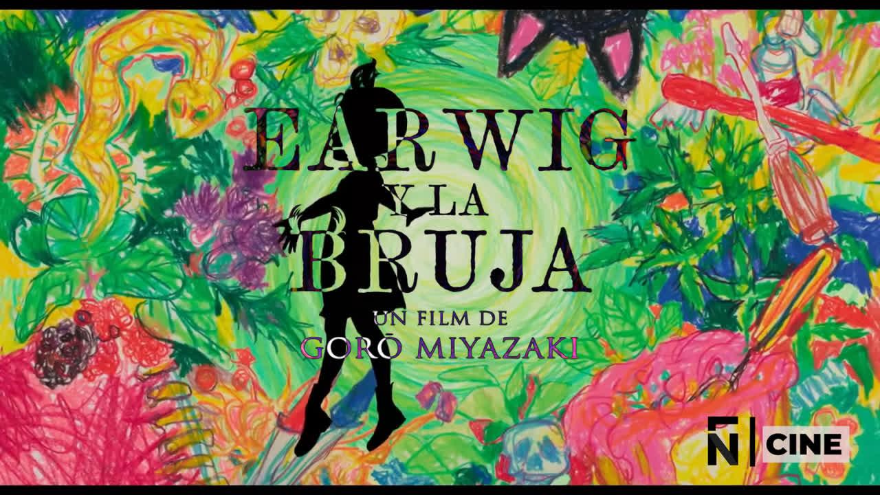 Trailer - Earwig y la Bruja