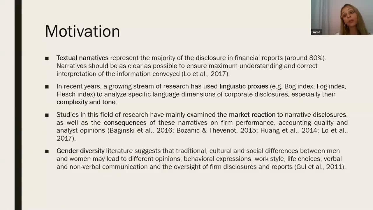 Gestión de impresiones y revelación de información II