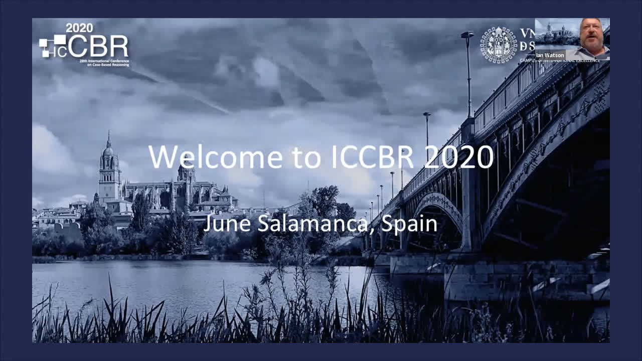 ICCBR Opening session