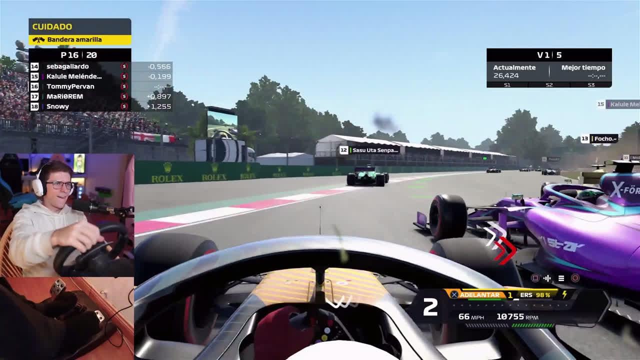 Perdóname DIos Rakyz fue sin intención a los pits x TommyPervan en F1 2021