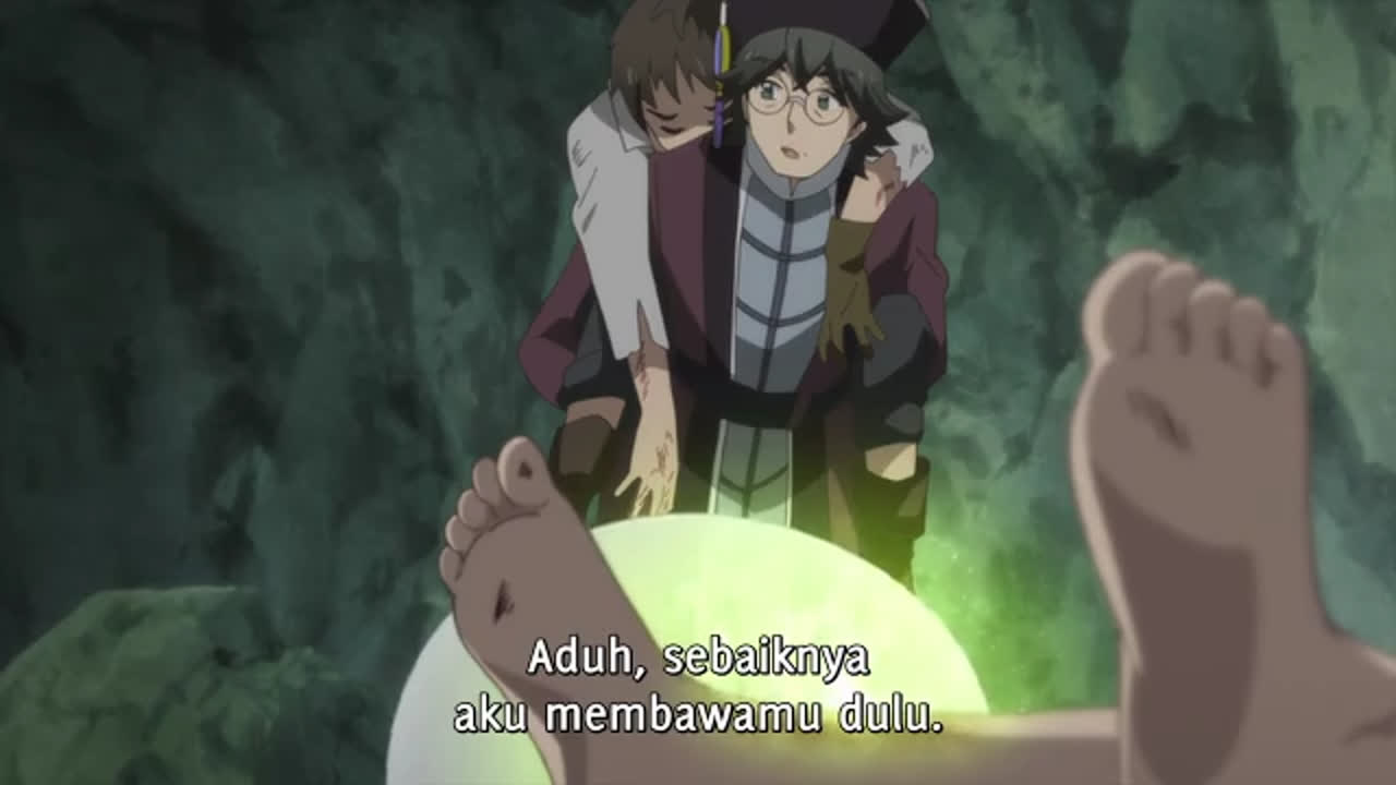 Kami-Tachi Ni Hirowareta Otoko episode 6 sub indonesia