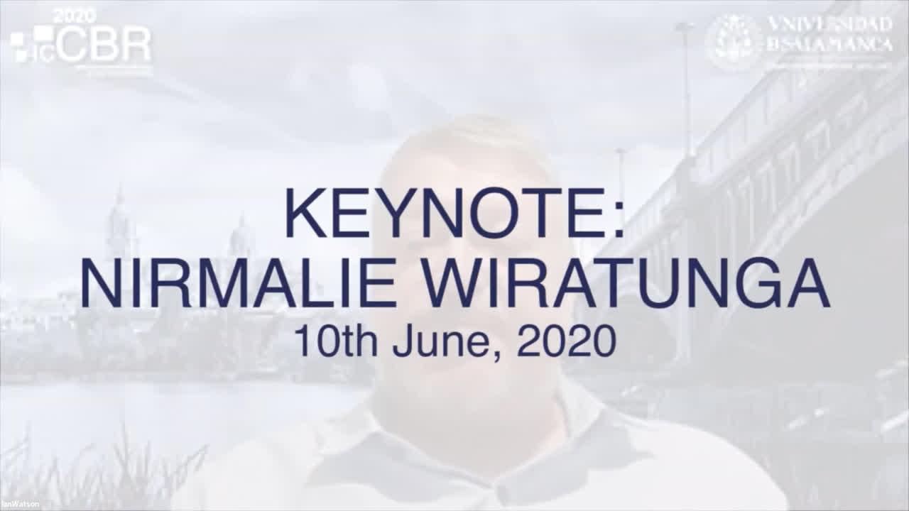 Keynote: Nirmalie Wiratunga