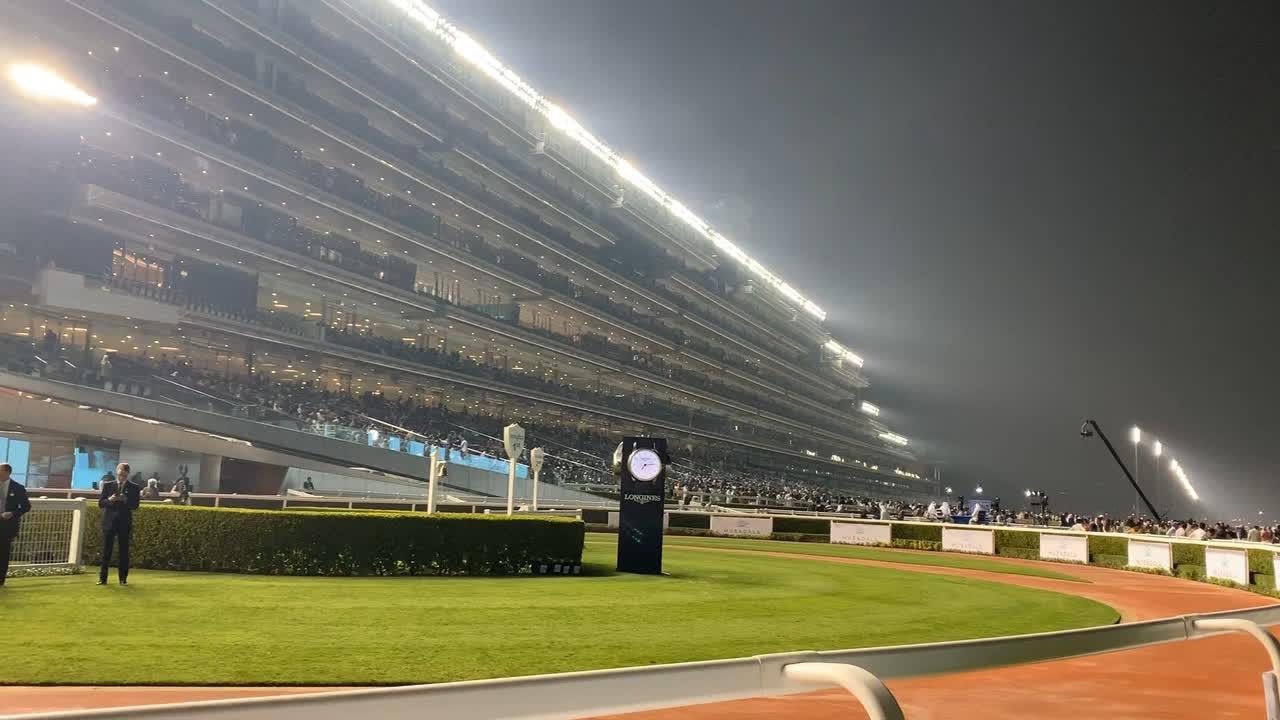 Meydan Racecourse in Abu Dhabi