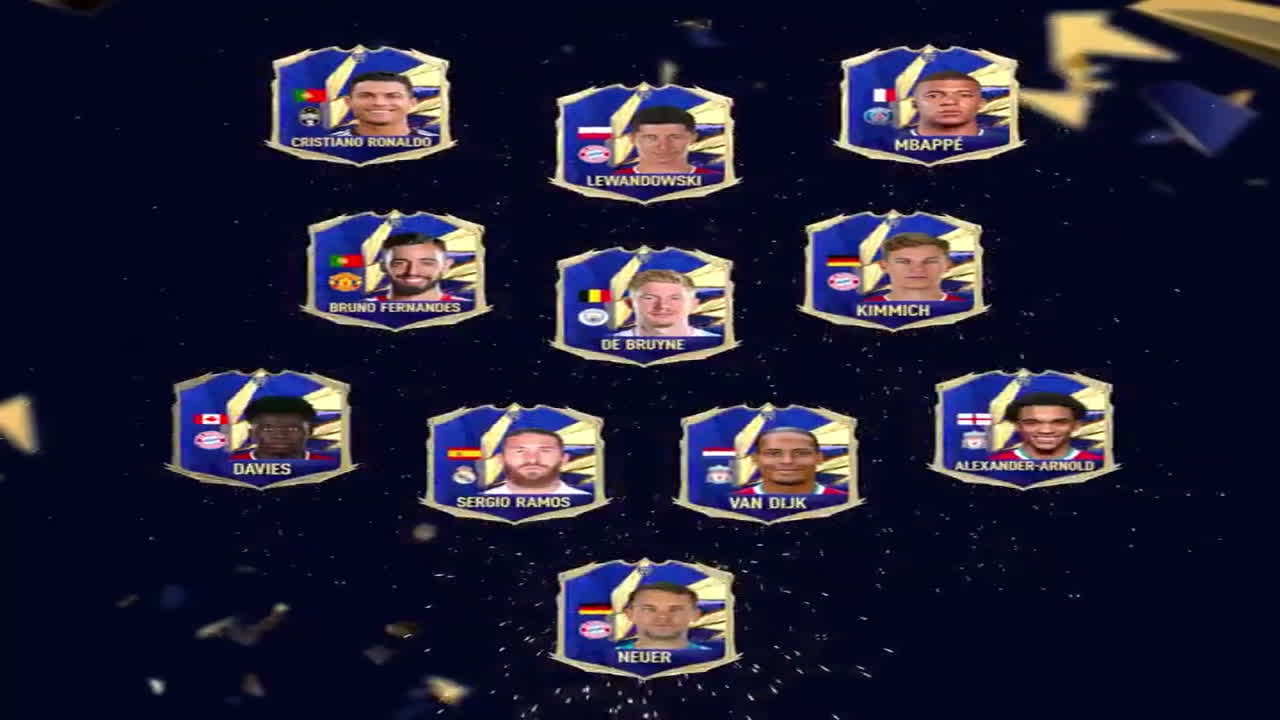 FIFA 21 TOTYS 2021 (Team Of The Year)
