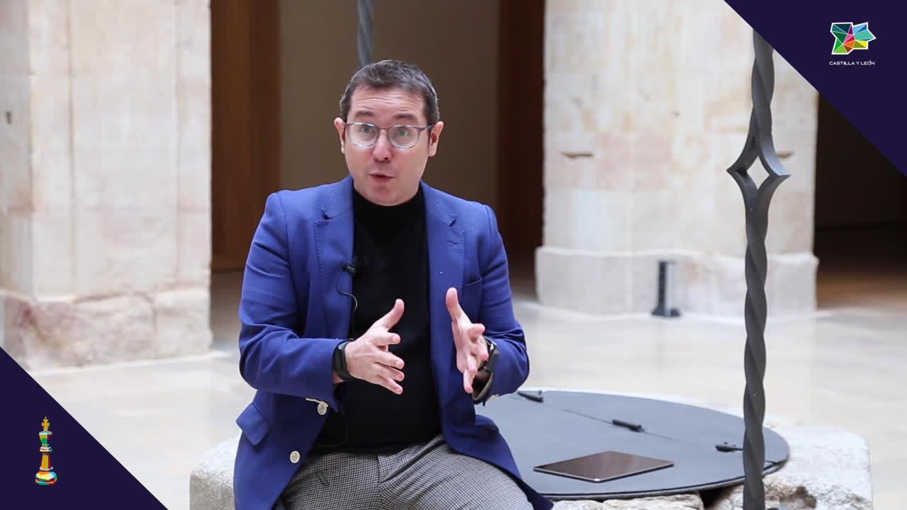 El periodista Sergio Martín analiza el III Festival de Ajedrez en Salamanca