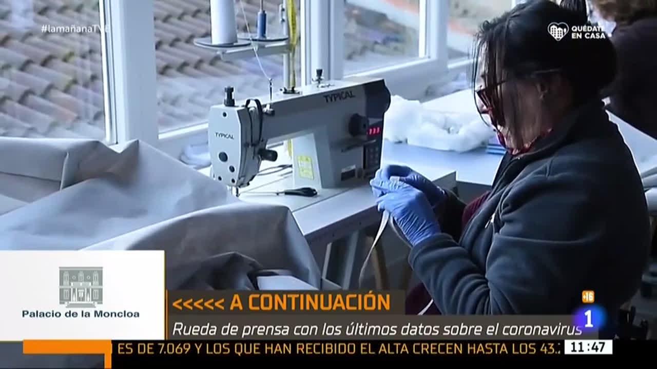 La lucha de Béjar contra el COVID-19 en La Mañana de TVE