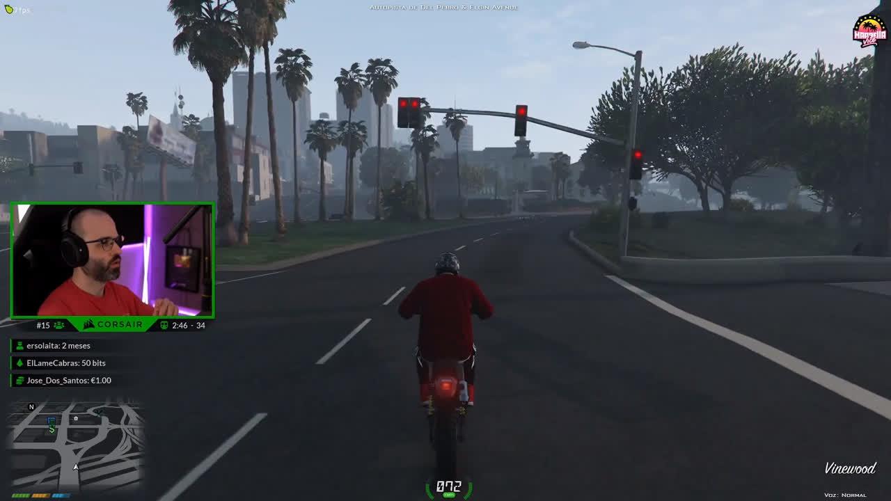 Carola, el enemigo de carola XD x MenosTrece en Grand Theft Auto V