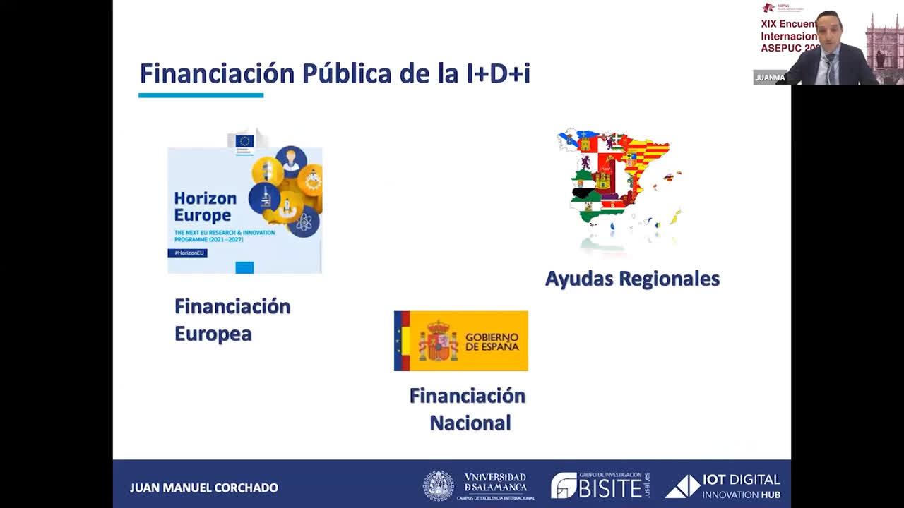 Mesa redonda II. Proyectos de Investigación en convocatorias nacionales y europeas. Oportunidades de
