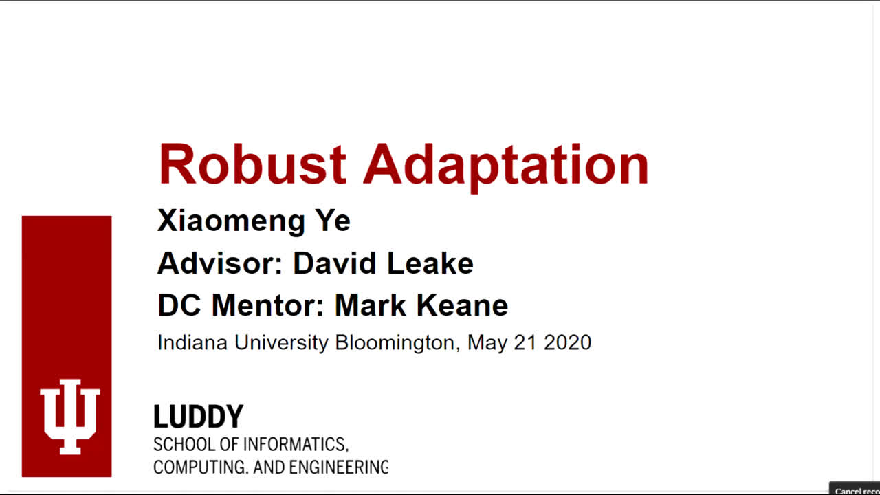 "Paper 80: ""Robust Adaptation in CBR"""