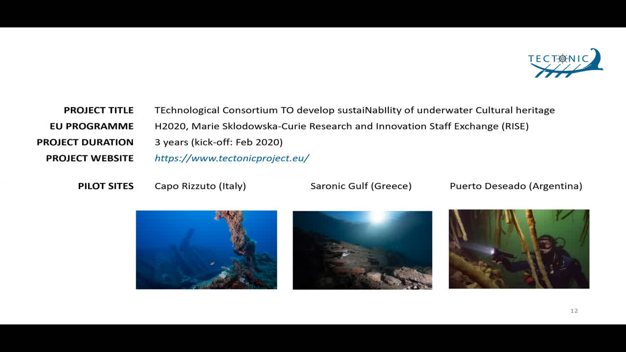 "Paper 82: ""An intelligent platform for the management of underwater cultural heritage"""