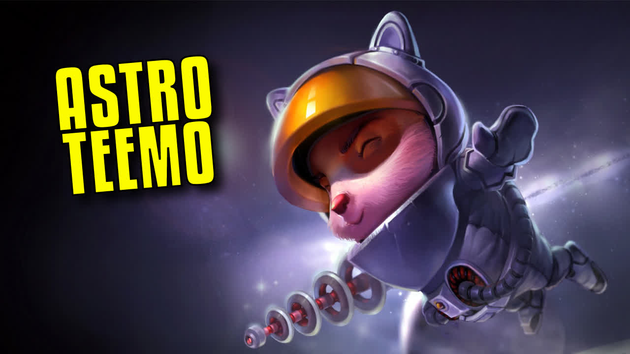 TEEMO in TFT? - Sniper & Astro & Chrono COMP with Riven EXODIA | TFT Galaxies SET 3.5