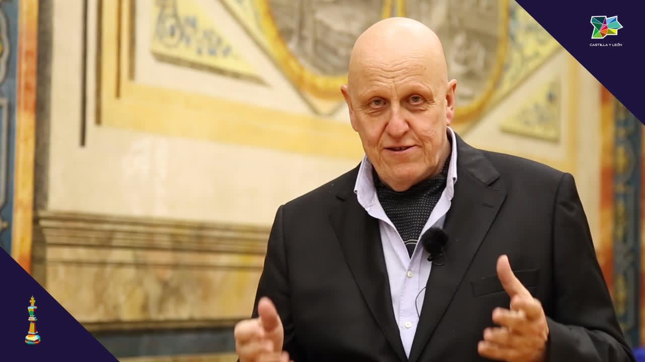Leontxo García Olasagasti considera un acierto la celebración del torneo de ajedrez de Salamanca
